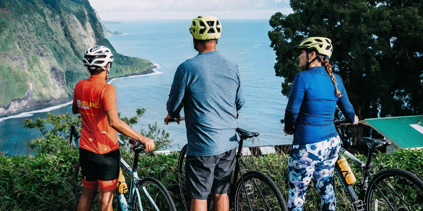 Waipio Valley Lookout Road Bike Tour Big Island Bike Tours